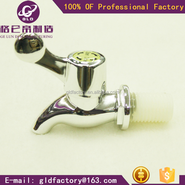 GLD new style plastic beer tap hot sales bibcock chrome plating water tap