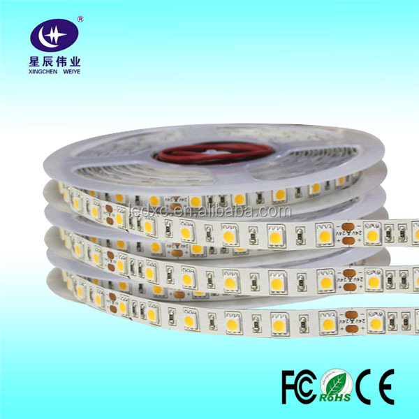 3M Adhesive White 5050 300Led/Roll led flexible strip for Vehicle Car Lighting