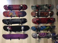 HANGZHOU THE BIGBANG OEM Logo printed Professional Mini Fingerboards/ maple Finger Skateboard