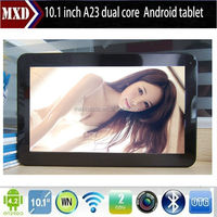 Android Tablet 10 inch Allwinner A23 Dual Core oem hot pad tablet pc