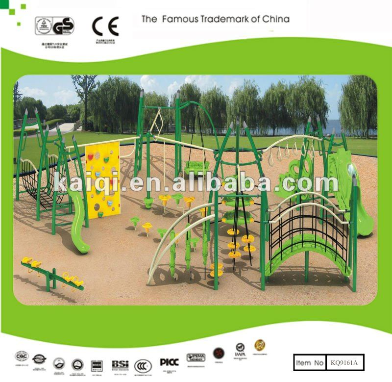 Outdoor Obstacle Course and Outdoor Fitness Equipment Combination for Children's Playground