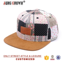 Cap with back flap snap back cap hat