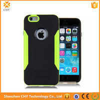 high quality blade hybrid armor plastic silicone mobile phone case cover for iphone 6