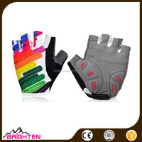 Profession bicycle sport men's Half Finger cycling gloves