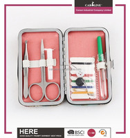 Girls beauty promotion gift traveling kit sewing set