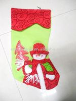 Hot sell, Christmas stocking with snowman