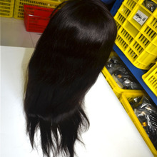 Large stocks long lasting lace wigs closure brazilian human hair
