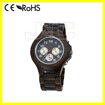New fashion man automatic wooden watch,environment waterproof watch