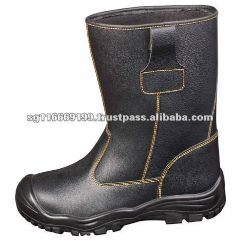OTS 888 Hot Selling Genuine Leather Safety Boot