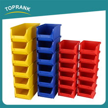 Cheap wholesale industrial warehouse shelf wall mounted plastic storage bin