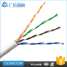 Economical High Speed Twist Pair pure copper 24awg Utp cat5e utp fire resistant cable