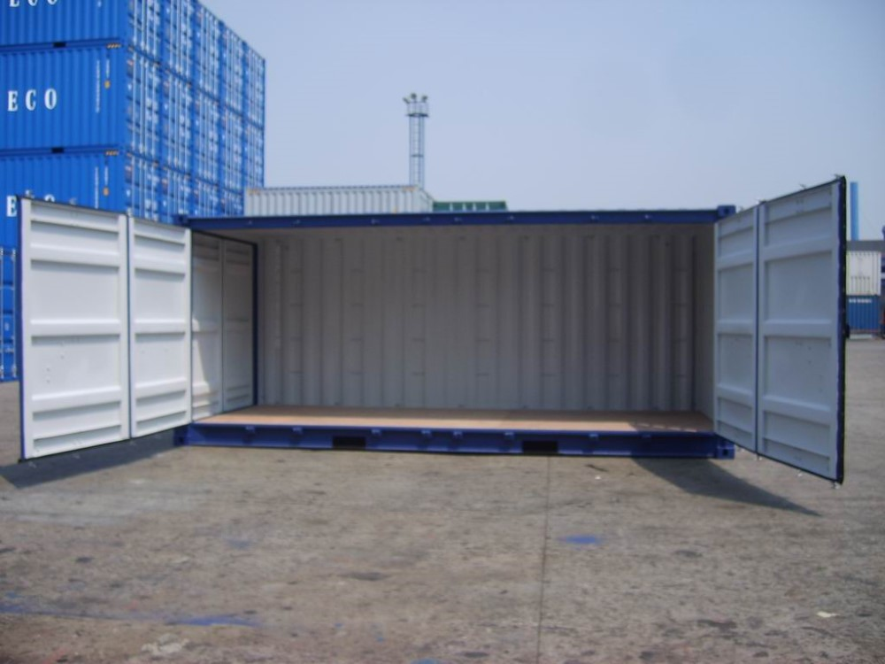ISO standard 20' four open side door container/ special container/shipping container