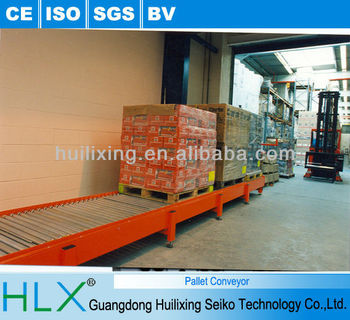 Tooling Plate Conveyor System Wooden Plate Free Flow Chain Conveyor