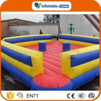 Factory Direct Wholesale inflatable boxing rings air jousting arena with stick