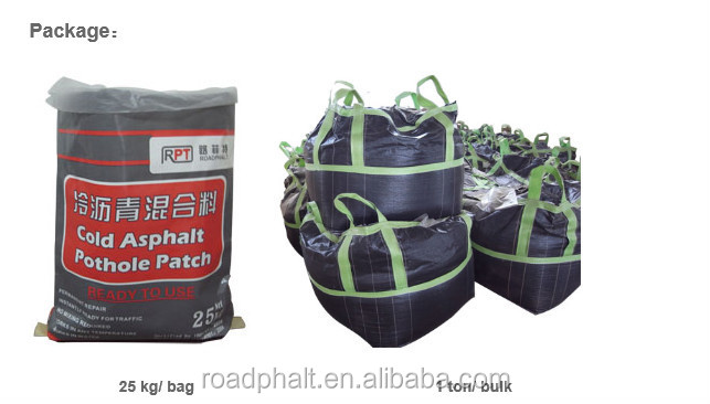 Cold patch road repair --- 25kg / bag