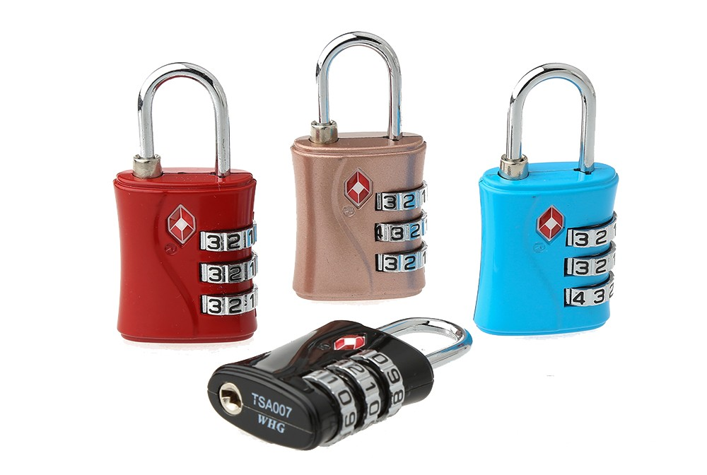 TSA-554 New design bag and luggage TSA code safe lock