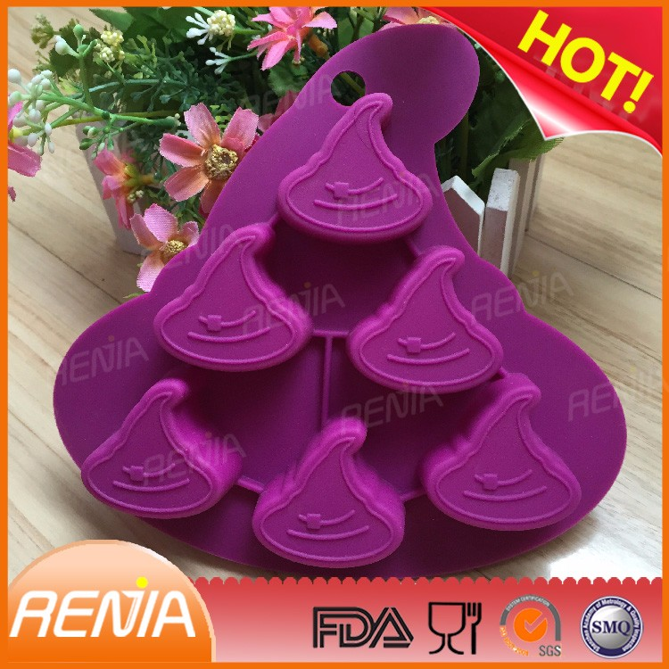 RENJIA silicone Halloween gift cake mould halloween gift mould for cake