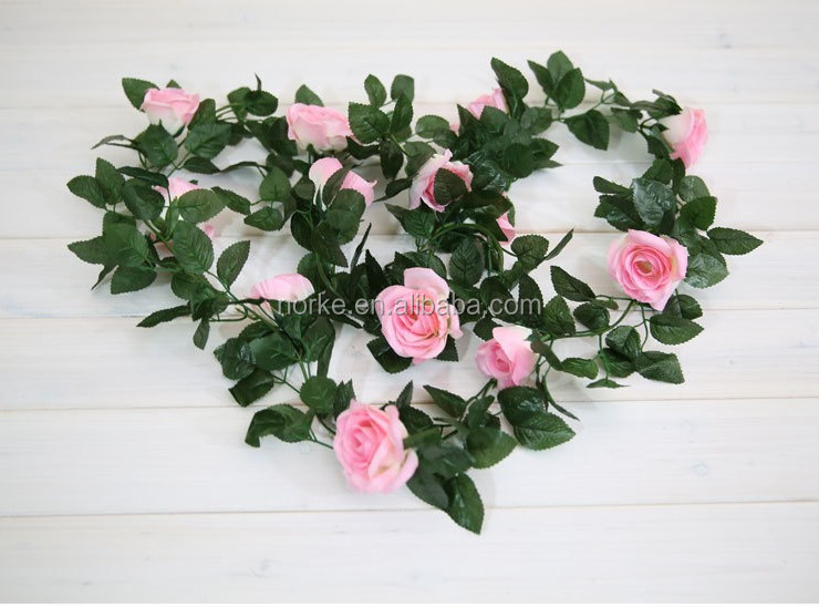 Good quality artificial rose flowers vine