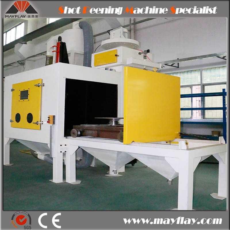 Mayflay Planetary Gear Sheet Shot Peening Machine For Surface Treatment