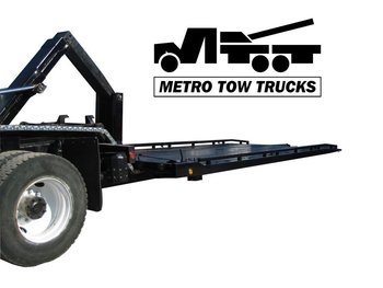 FB0-10 0-degree Tow Truck Flat bed Carrier with Wheel lift