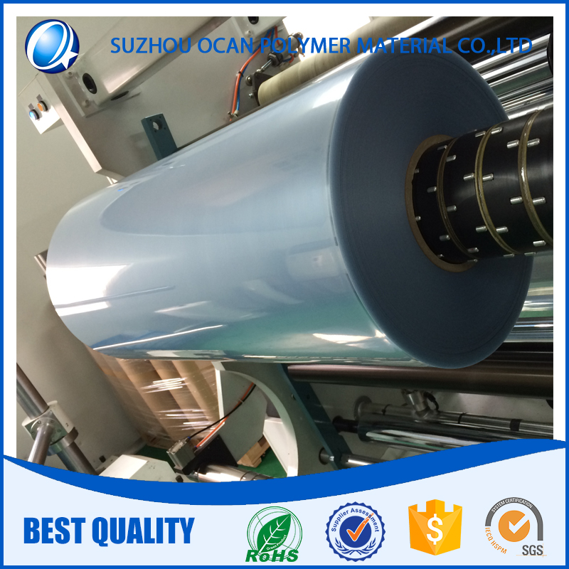 Rigid PVC Roll Transparent Clear Plastic Film for Product Packaging