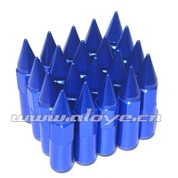 Forged Aluminum Wheel Lug Nuts With Spike