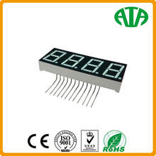white/yellow/red/blue 0.56 inch 7 segment led number display 4 digit