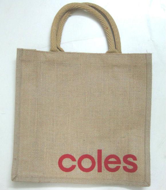 Coles Jute Bags - Buy Natural Jute Laminated Jute Bags Product on ...