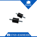 Black rubber shock absorber rubber mounting