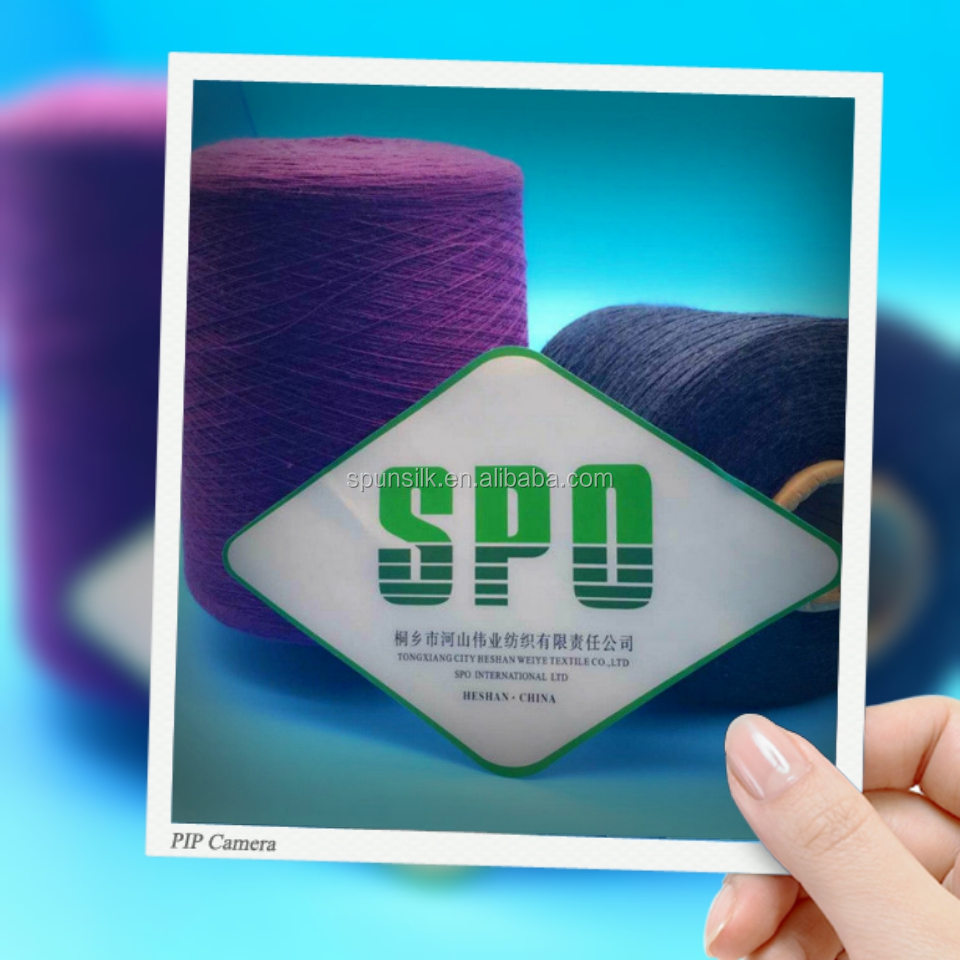 100% Merino Wool Fancy Yarn For Knitting Sock Sweater Scarf,120NM/2,50 Silk/50 Wool,Anti-Pilling Feature,Free Samples,SPO