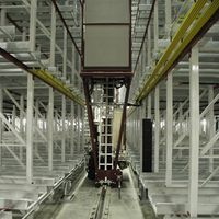 Warehouse Industry 4.0 Racking Equipment Automated Storage & Retrieval Systems