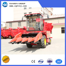Modern agricultural machinery harvest machine for corn