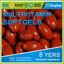 Multi-vitamin Supplement Softgels
