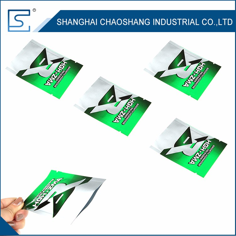 100% Hot Sale Customized Silver Aluminum Foil Bag Packaging