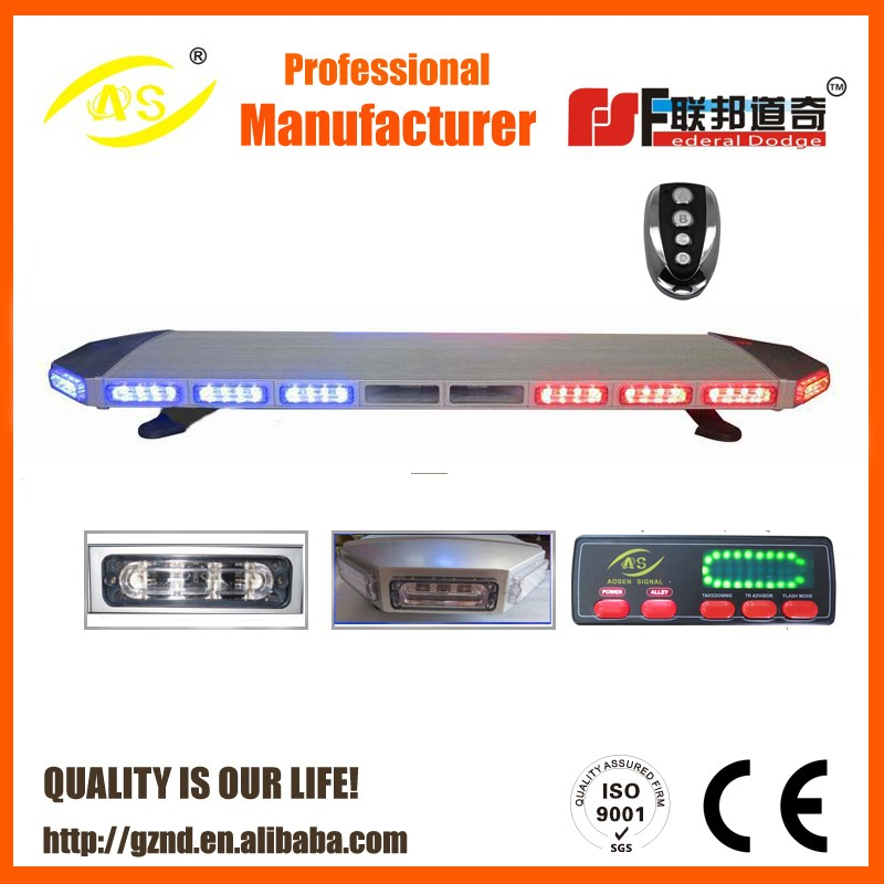 2016 Police Car/Truck Used LED Warning Light Bar used amber warning lightbars