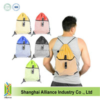 2014 European style retro bags/ school drawstring backpack for teenagers
