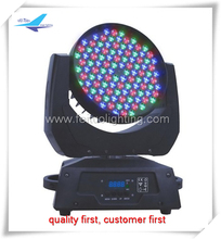 Color mixing wash light rgbw 108*3w moving head led stage light