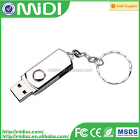 Highspeed sliver Metal 8GB Flash USB Driver Flash Card Reader USB 2.0 Driver