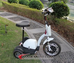 hot selling 3 wheels zappy Electric Scooter made in China