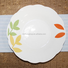 Ceramic Breakable Soup Plates With Tiny Dots Wholesale