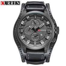 Best Selling Men's Top Brand CURRAN Watch manufacturer multi-function mens wrist watches