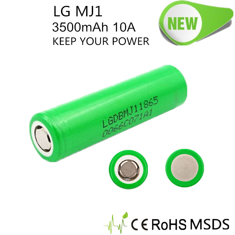 Original high quality lg dbmj11865 3.7v 3500mah rechargeable li-ion battery for hover board