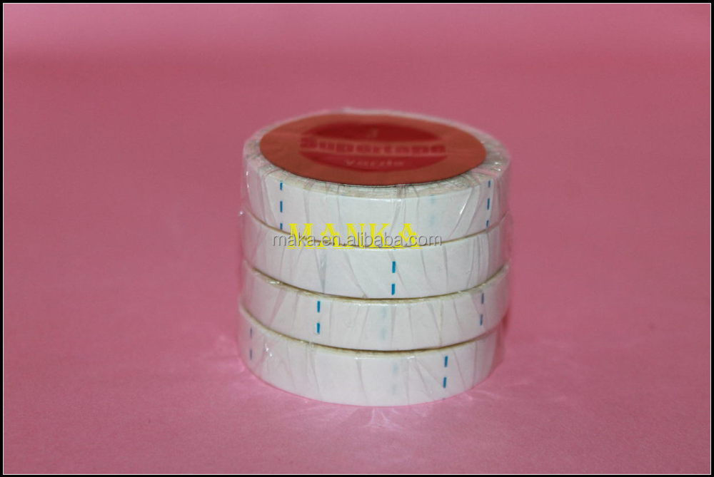 Beijing Factory 3 Yards Water-proof Double-sided Super Tape For Weft Tape-in Hair Extension Lace Wig Glue