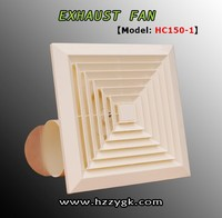 Zhejiang manufacture plastic exhaust fan ceiling fan 4 inch Ventilation Fan (HC150-1)