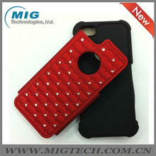 High quality diamond hard case for iphone 5, phone cover for iphone 5S
