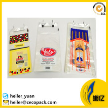 Bread and fruit packaging custom printed ldpe wicket bag