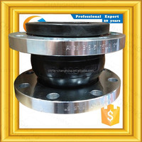 Dn125 Coupling with Flange dn25 bellows expansion joint strip seal