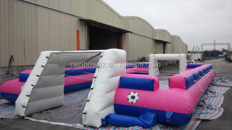Human Table Football Sports Inflatable Soccer Arena For Sale