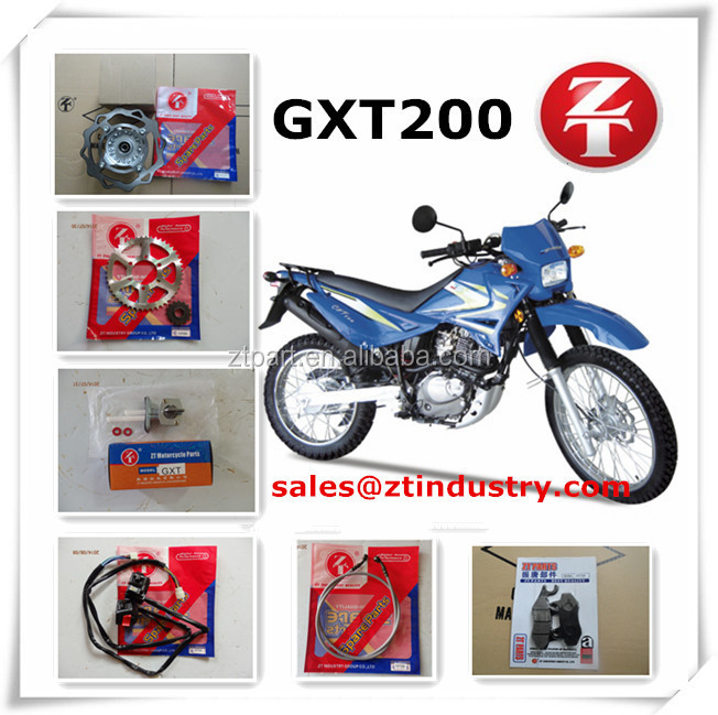 Wholesale Genesis GXT200 motorcycle spare parts from china