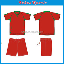 100% polyester Material and Adults Age Group custom Training soccer jersey